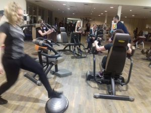 Norgercircuit training o.l.v Noury Rachid