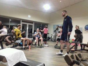 Norgercircuit training onder leiding van Noury Rachid