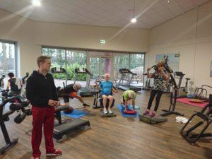 Norgercircuit training vrijdag ochtend maart 2018