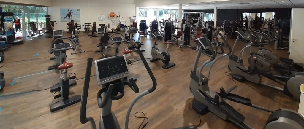 Fitnessen